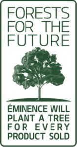 Eminence Organics Forests for the Future - Eminence will plant a tree for every product sold
