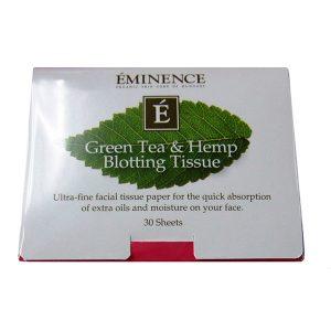Green Tea & Hemp Blotting Paper