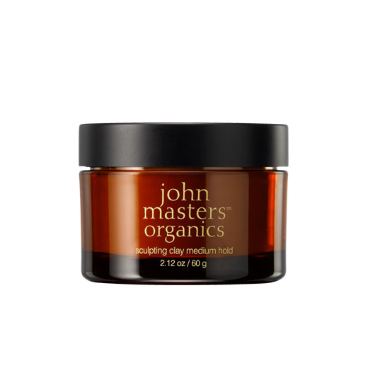 Organic Hair Sculpting Clay - flexible touchable hold and lost lasting staying power