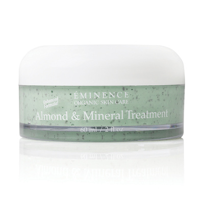 Eminence almond mineral treatment